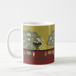 Assyrian Palace Design Coffee Mug