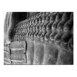 Assyrian Sculpture   Customizable Postcard