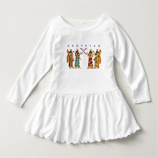 Assyrian Toddler Ruffle Dress
