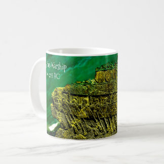 Assyrian Warship Coffee Mug