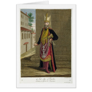 Ast-chi-Bachi, Cook and Officer of the Janissaries Card