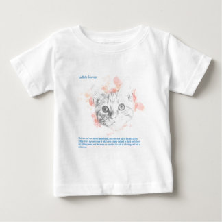 Asta, Malcolm's Daemon from La Belle Sauvage Baby T-Shirt
