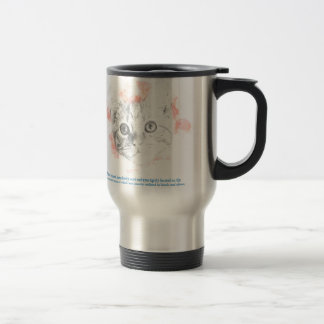 Asta, Malcolm's Daemon from La Belle Sauvage Travel Mug