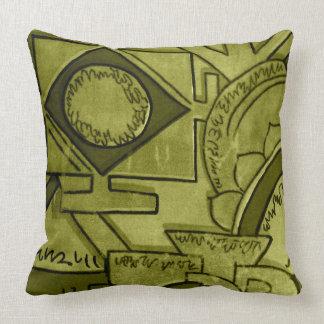 Astar Olive Green Throw Pillow