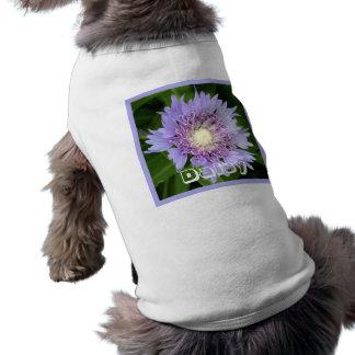 Aster Blue Daisy Pet T Shirt