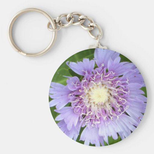 Aster Blue Daisy Keychains