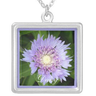 Aster Blue Daisy Custom Jewelry