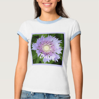 Aster Blue Daisy Tee Shirts
