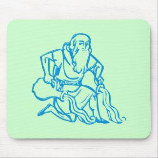 Asterisk Aquarius zodiac sign Aquarius Mouse Pad