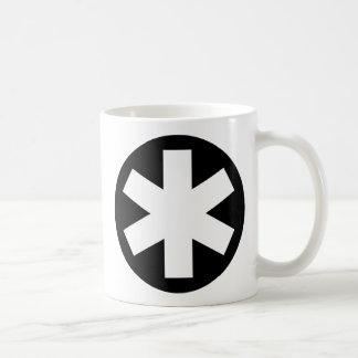 Asterisk - Black Coffee Mug