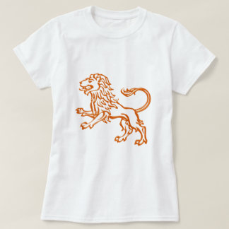 Asterisk lion zodiac sign Leo T-Shirt