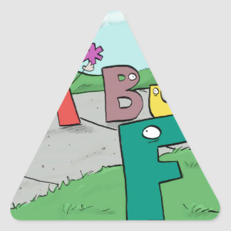 Asterisk Taker Triangle Sticker