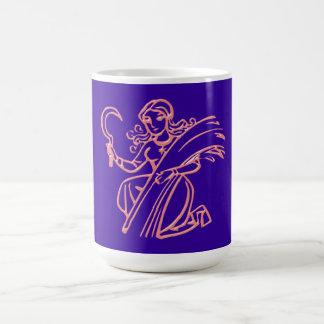 Asterisk virgin zodiac sign Virgo Coffee Mugs