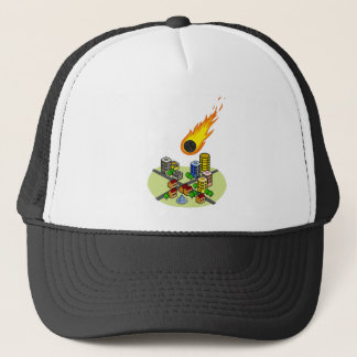 Asteroid Trucker Hat