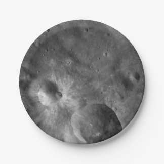 Asteroid Vesta Craters Paper Plate