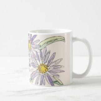 Asters mug from Nan Henke original watercolor