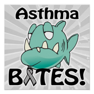 Asthma BITES Print