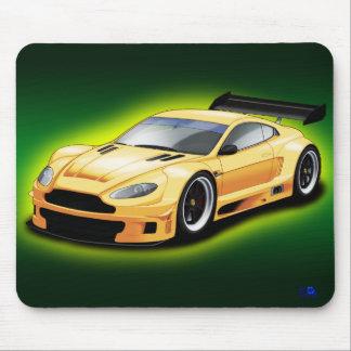 Aston Martin racing car. Mouse Pad