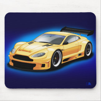 Aston Martin racing car. Mouse Pad