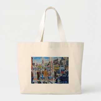 aston quay dublin large tote bag