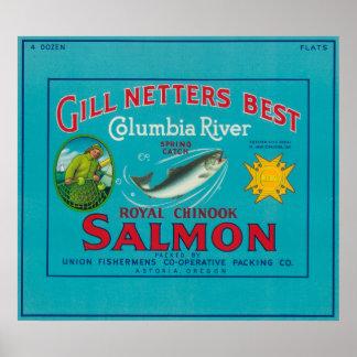 Astoria, OregonGill Netters BestAstoria, OR Poster