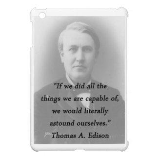 Astound Ourselves - Thomas Edison iPad Mini Case