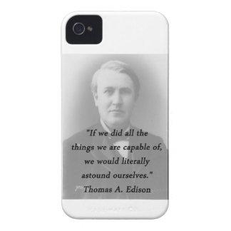 Astound Ourselves - Thomas Edison iPhone 4 Case