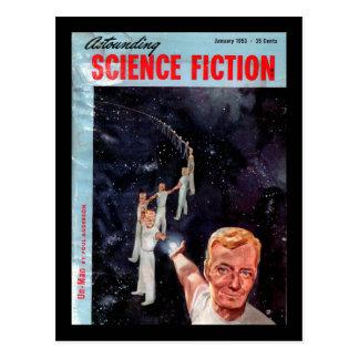 Astounding Science Fiction_ January 1953_Pulp Art Postcard