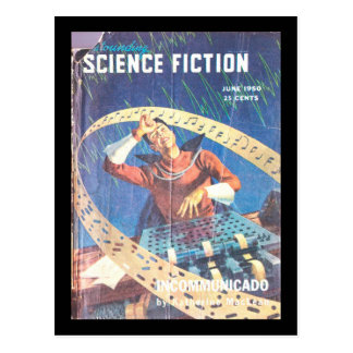 Astounding Science Fiction_ June 1950_Pulp Art Postcard