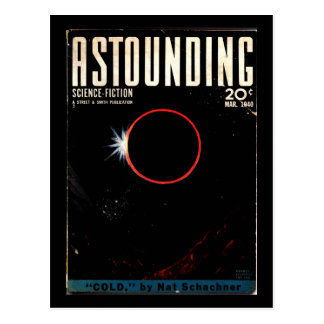 Astounding Science Fiction_ March 1940_Pulp Art Postcard