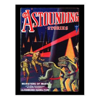 Astounding Stories 1931_Pulp Art Postcard