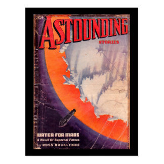 Astounding Stories _April 1937_Pulp Art Postcard