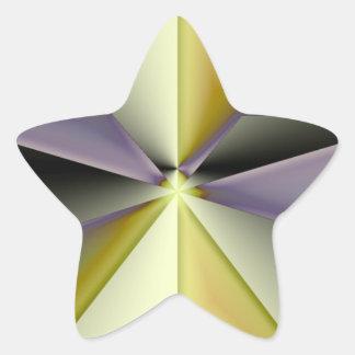 Astra Metallica Star Sticker