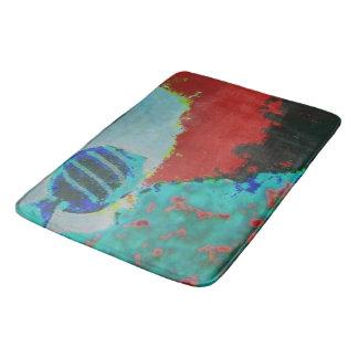 Astract Fish Art Bath Mat