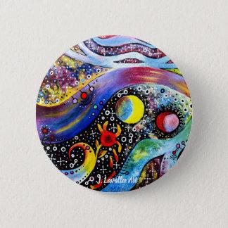 """Astral"" 6 Cm Round Badge"