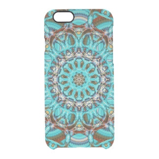 Astral Eye Mandala Clear iPhone 6/6S Case
