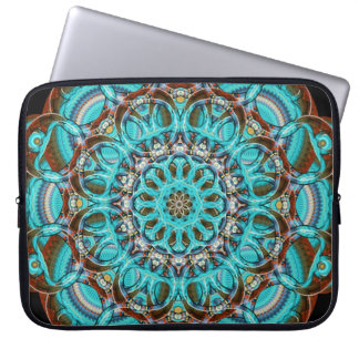 Astral Eye Mandala Laptop Sleeve