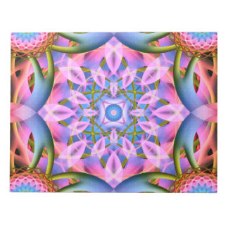 Astral Flower Mandala Notepad