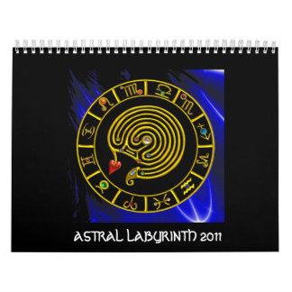 ASTRAL LABYRINTH 2011 CALENDARS