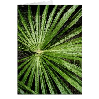 Astral Leaf Card