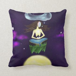 Astral Meditation Yoga and love! Universe Cushion