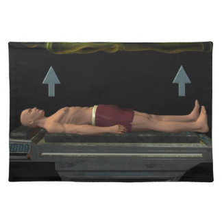 Astral Projection, Out-of-Body Experience Placemat
