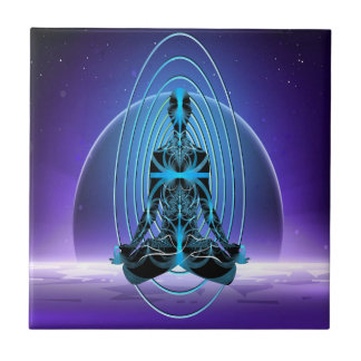 Astral Travel Ceramic Tile