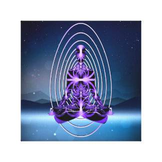 Astral Travel (mountains or loneliness) Canvas Print