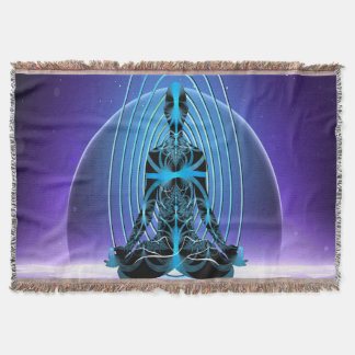 Astral Travel Throw Blanket