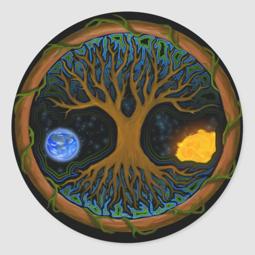 Astral Tree of Life - Sticker