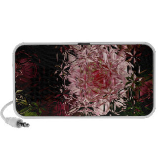Astrantia Crystals Abstract Doodle Laptop Speakers
