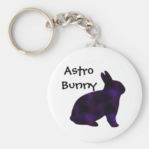 Astro Bunny Key Chain