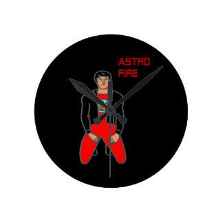 Astro Fire Clock
