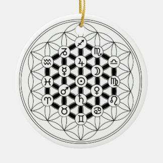 Astro~Flora: Fleur de Vie & Astrology